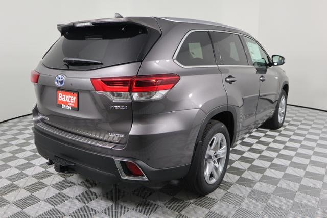 New 2019 Toyota Highlander Hybrid Limited Sport Utility In Lincoln