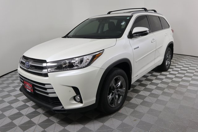 Certified Pre Owned 2018 Toyota Highlander Hybrid Limited Platinum Sport Utility In Lincoln K69035a Baxter