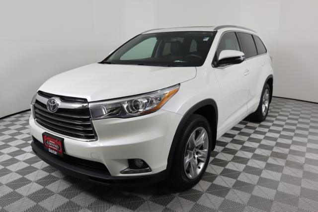 Certified Pre Owned 2016 Toyota Highlander Limited Platinum Sport Utility In Lincoln K35026a Baxter