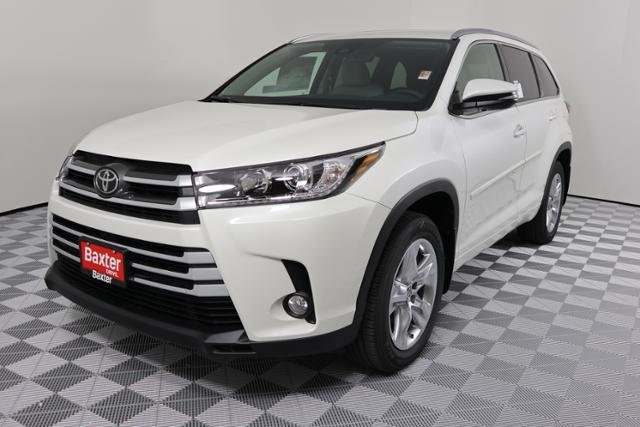 New 2018 Toyota Highlander Limited Sport Utility In