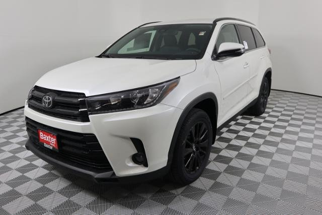 New 2019 Toyota Highlander Se Sport Utility In Lincoln K69047