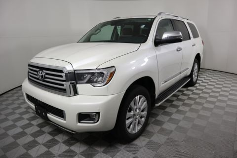 Certified Pre-Owned 2018 Toyota Sequoia Platinum 4WD FFV