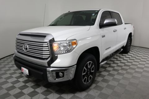 Certified Pre-Owned 2016 Toyota Tundra 4WD CrewMax 5.7L FFV V8 6-Spd AT LTD